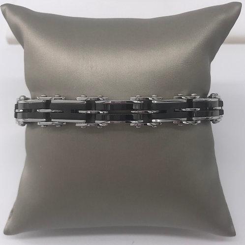Stainless Steel Reversible Bracelet