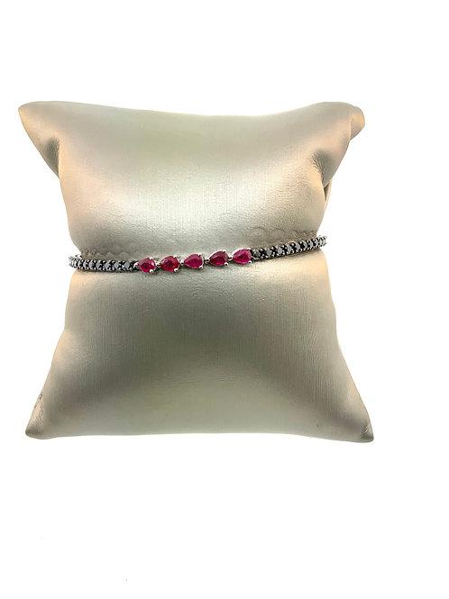 Ruby Line bracelet