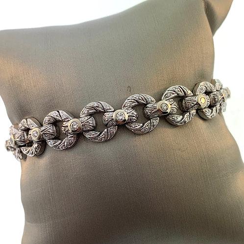 Vintage Platinum Bracelet