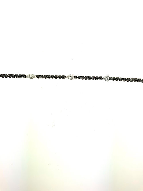 Multi shape line bracelet