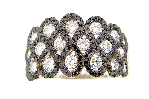 Diamond Weave Ring