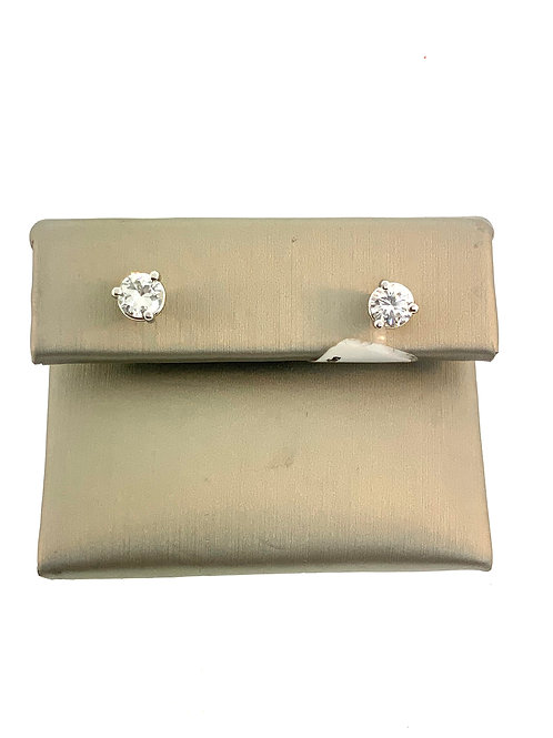 Diamond studs 1.03ct
