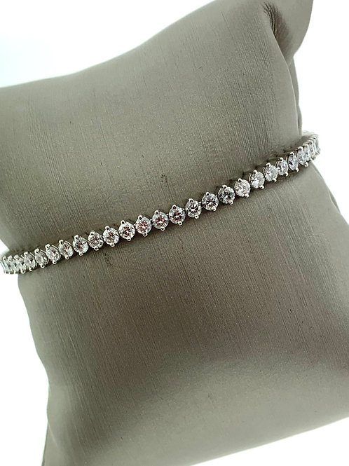 "7"" Platinum Line Bracelet"
