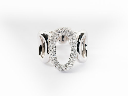 Open Ovals Ring