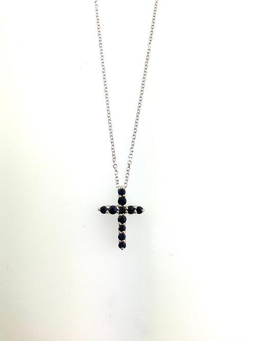 Sapphire cross