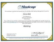 Nadcap Weld Certificate #175129_expires