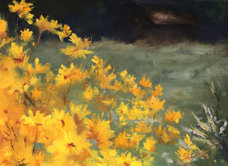 September Flowers III - 24 x 18