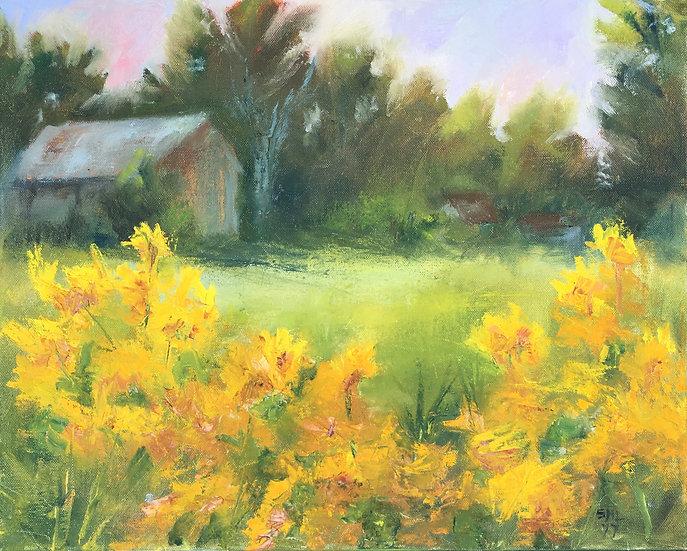 September Flowers II - 16 x 20