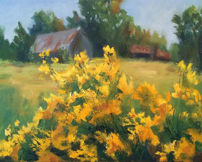 September Flowers - 16 x 20