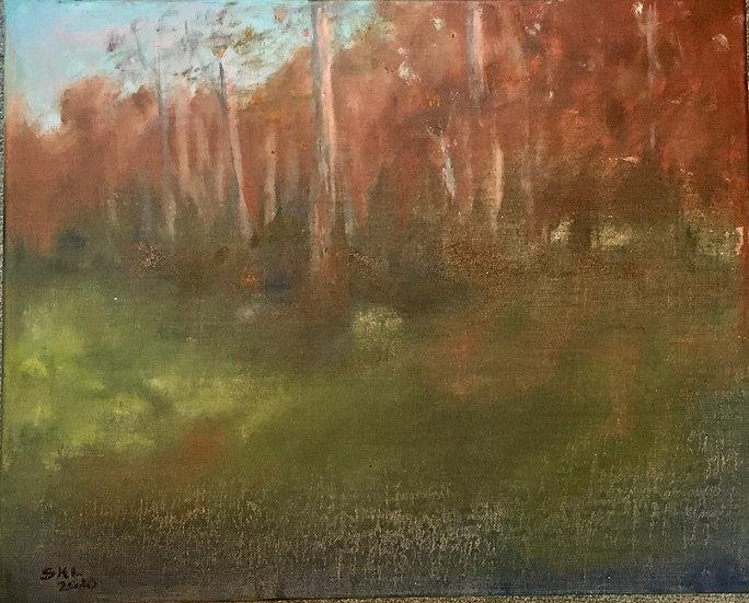Edge of the Wood - 16 x 20