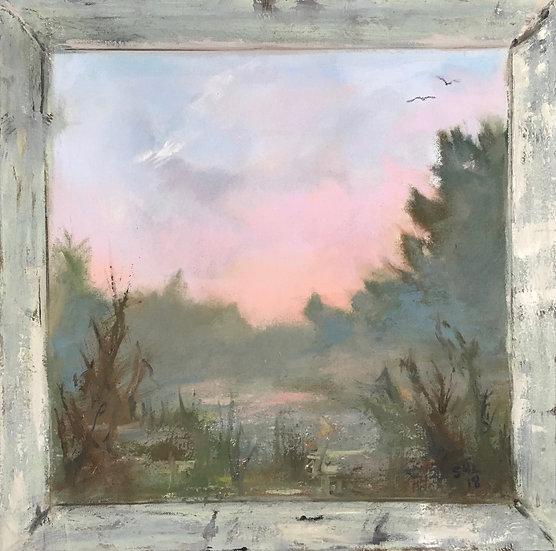 Marsh Dawn - 20 x 20