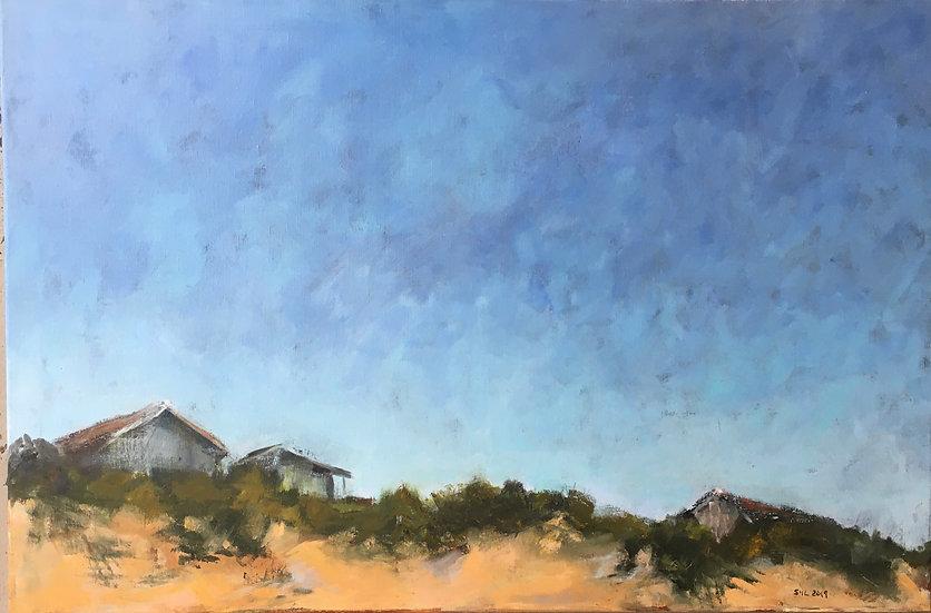 Ocean Side of Dune - 24 x 36