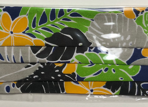 Tropical Floral 2. Adult Size. Complimentary with KEs logo