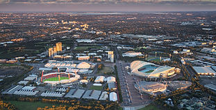 2016 Aerial of Sydney Olympic Park at Du