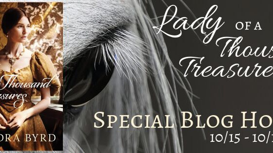 Review and Giveaway! : Lady of a Thousand Treasures