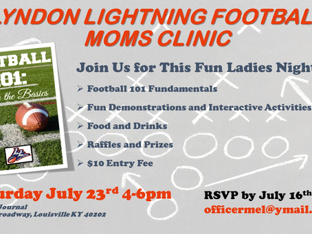 Football Mom's Night Out- Football 101