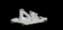 CFM56-7 Jet Engine Stand