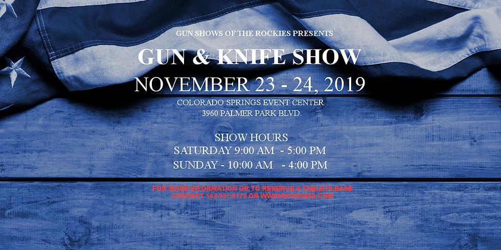 November Gun & Knife Show