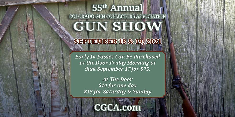 The 55th Annual Colorado Gun Collectors Association Gun Show