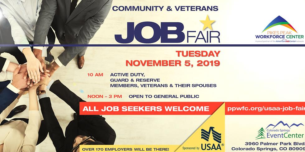 Community & Veterans Job Fair