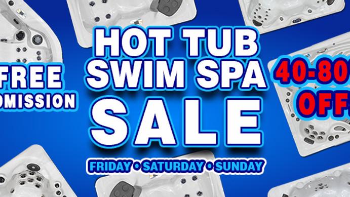 Hot Tub Swim Spa Sale