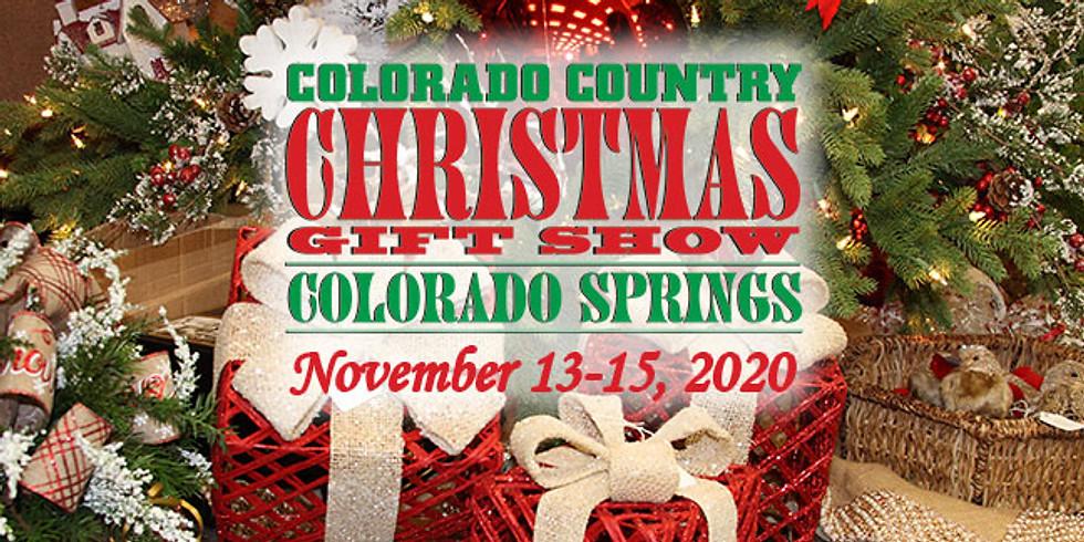 Colorado Country Christmas Gift Show in Colorado Springs
