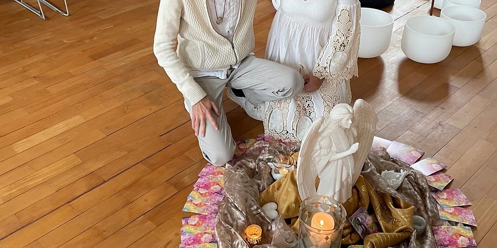 Morgenmatinee: Meditationskonzert mit Marco Wolf und Engelslichter Jasmine