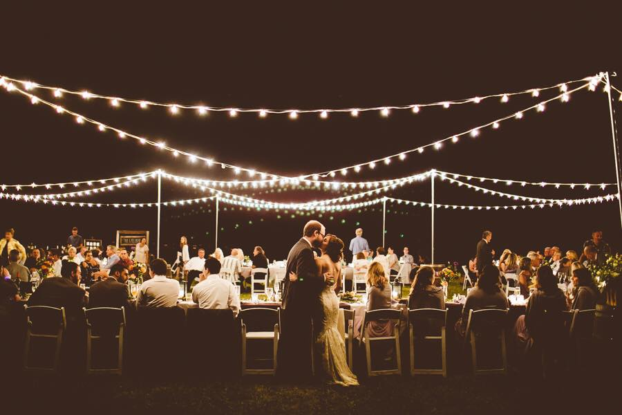 Wedding Bulb String Lighting