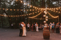 Wedding bulb string lighting