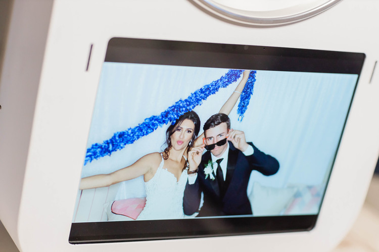 photo booth touch screen