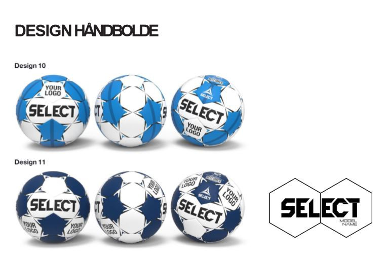 Design håndbolde