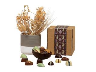 Påske mørk chokoladeskal med dansk produ