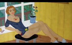 Katya's painting