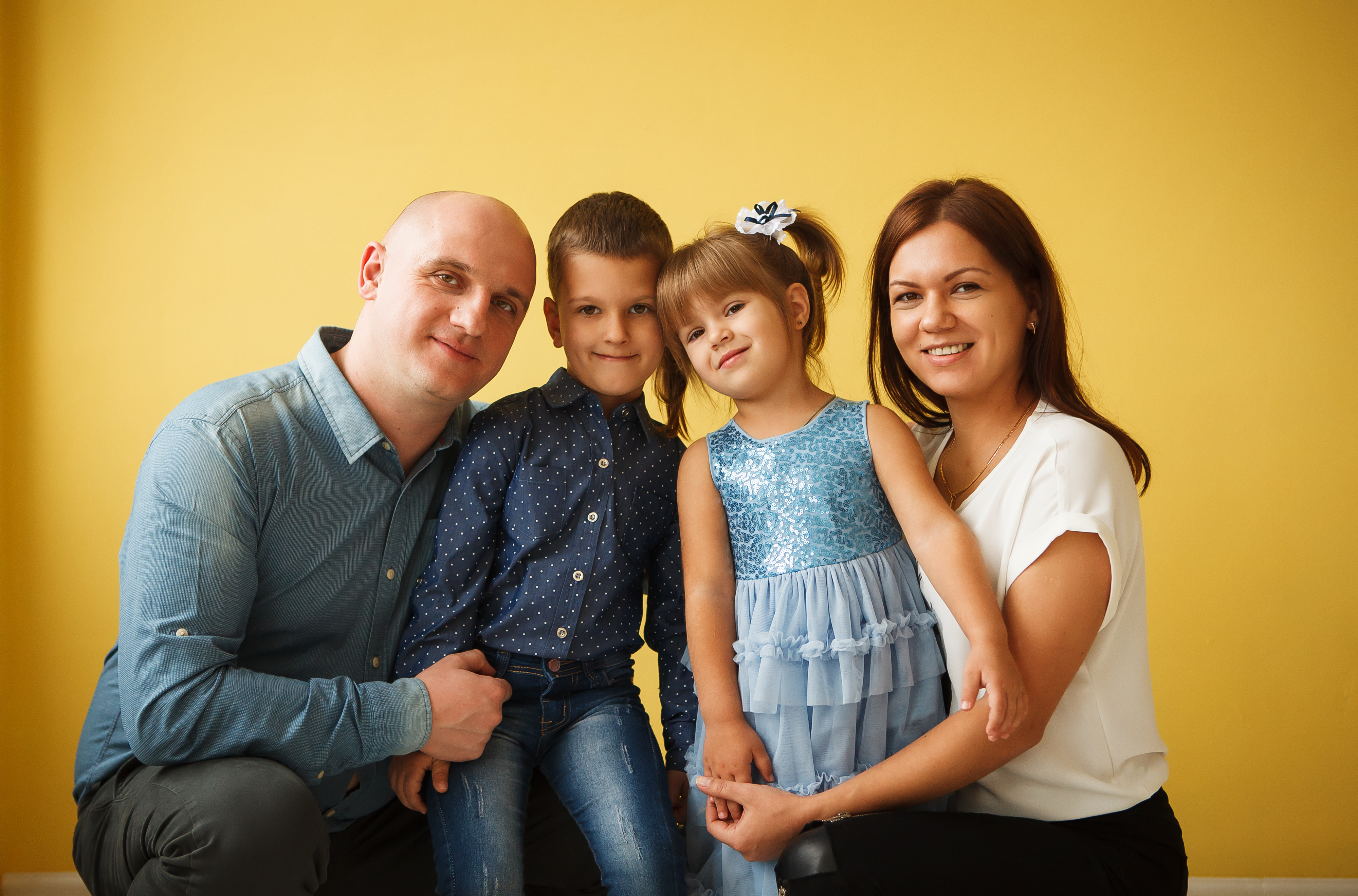 Katya and her family