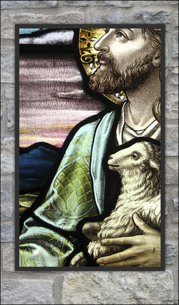 T1037 St John Baptist Stained Glass