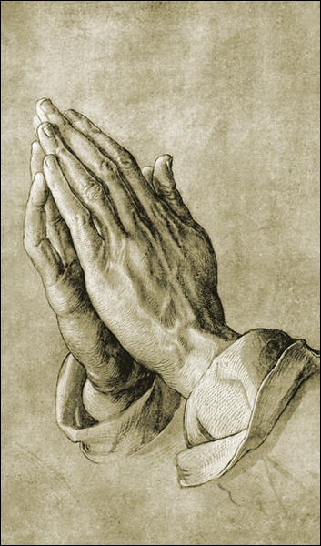 T1042 Praying Hands