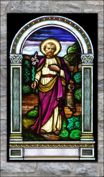 T2123 St. Joseph Stained Glass