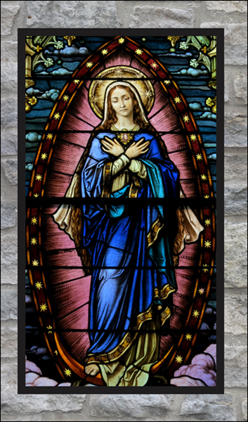 T2121 St. Mary Stained Glass