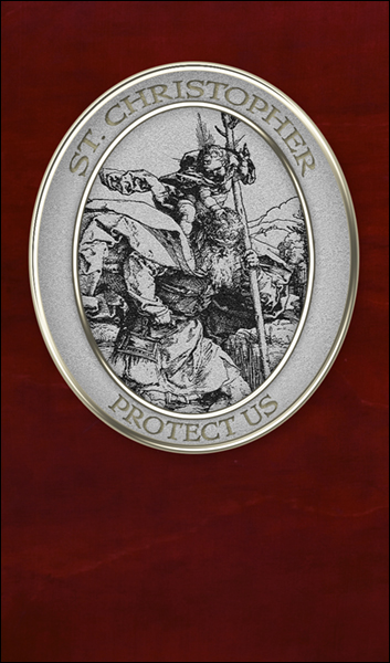T1034 St Christopher Medal