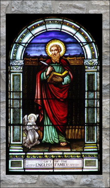 T2120 St. Matthew Stained Glass