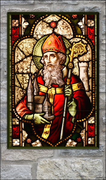 T1039 St Patrick Stained Glass