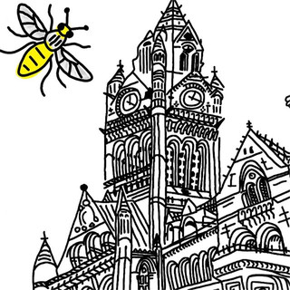 Manchester town hall 2/2 . . . #manchest