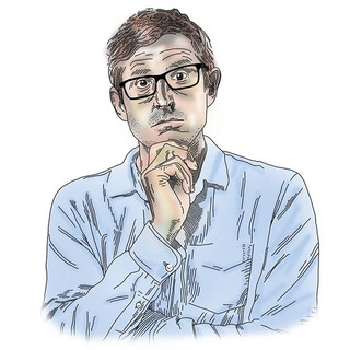 LOUIS THEROUX . . . #gottogettherouxthis