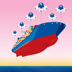 WHY THE SHIPPING INDUSTRY IS BETTING BIG ON AMMONIA