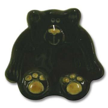 "3"" Mini Black Bear dish"