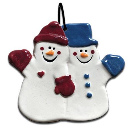 Couple Snowman
