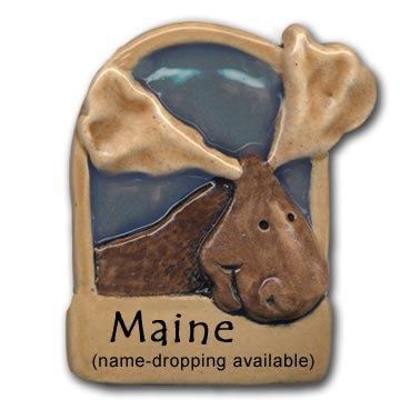 "3.5"" Moose Stall Magnet"
