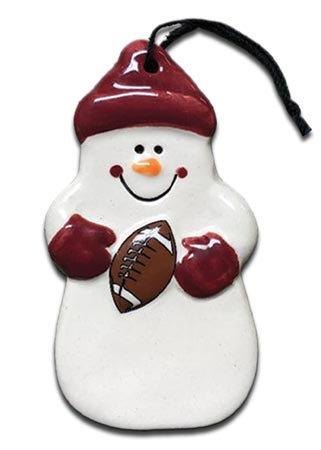 Football Snowman
