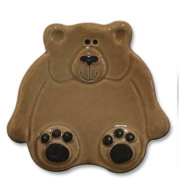 """3"""" Mini Brown Bear dish"""