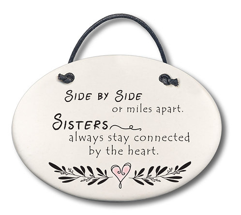 """4""""x 5.5"""" Wall Plaque"""